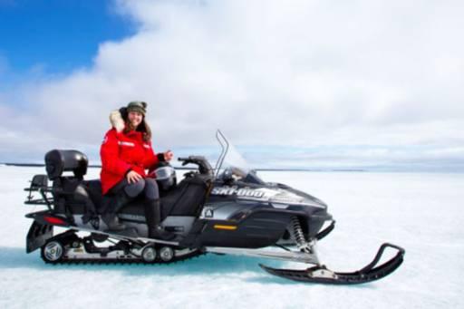 arctic haven snowmobile tour