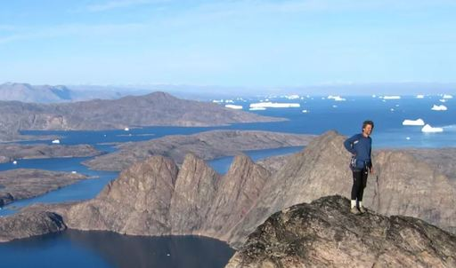 greg mortimer climbing excursion in greenland
