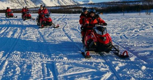 norway snowmobile tour