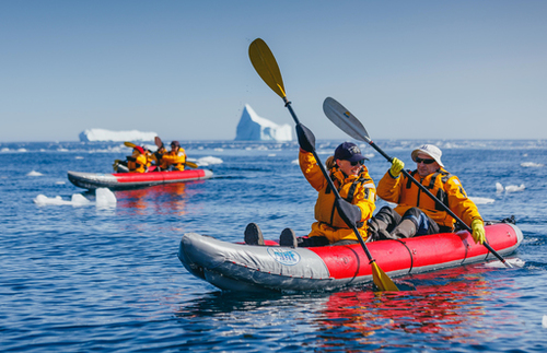arctic cruise kayaking