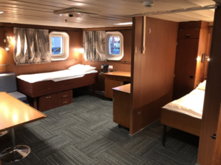 spirit of enderby heritage suite cabin
