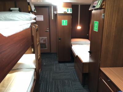 spirit of enderby main deck triple