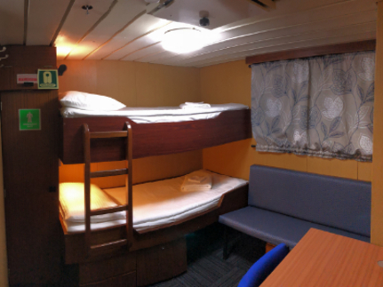 spirit of enderby  superior twin cabin
