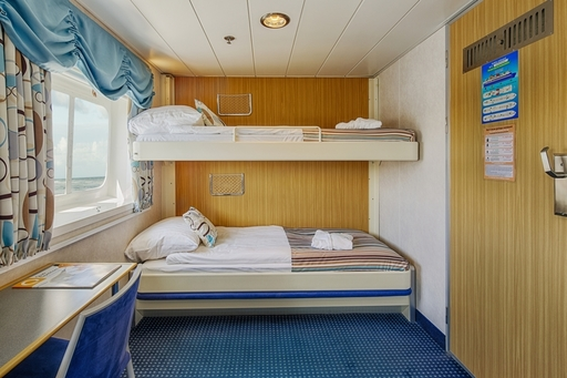20140622 ocean nova cabin 305 upper lower berth