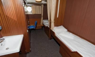 polar pioneer twin public cabin