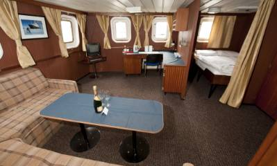 polar pioneer captains suite