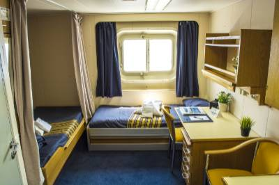 akademik ioffe twin private cabin
