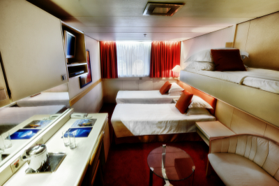ocean diamond triple cabin