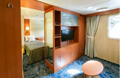 Ocean endeavour twin porthole suite cabin