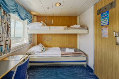 ocean nova upper lower cabin