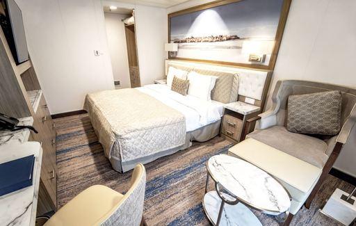greg mortimer junior suite cabin