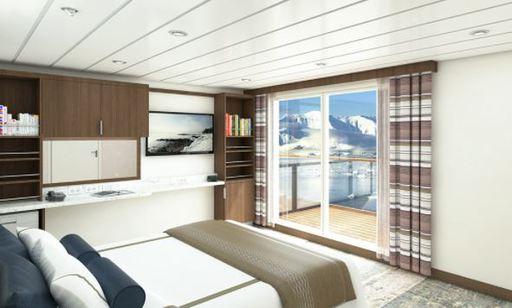 greg mortimer balcony suite cabin