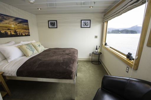 chichagof dream alaska cruise cabin deluxe