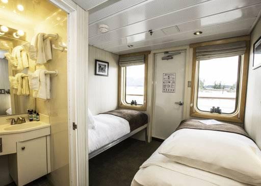 chichagof dream alaska cruise cabin aa