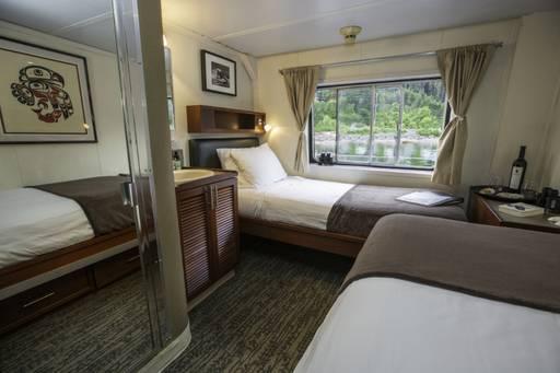 admiralty dream alaska cruise cabin a