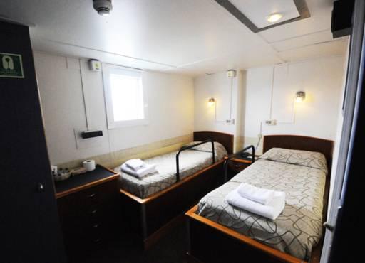 mv ushuaia premier twin cabin