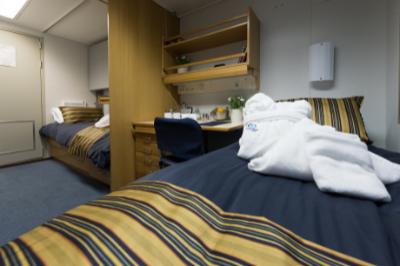 akademik ioffe twin semi private cabin