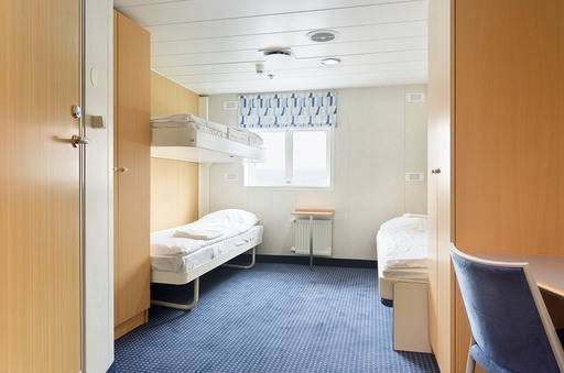 ocean nova antarctica triple cabin
