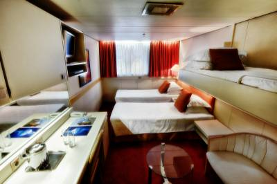 ocean diamond antarctica cruise triple cabin