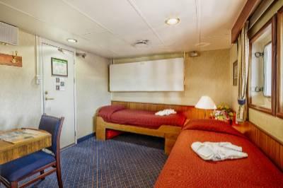 ocean diamond antarctica cruise deluxe cabin