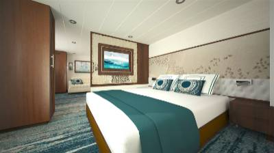 ocean adventurer Antarctica cruise superior owners suite cabin
