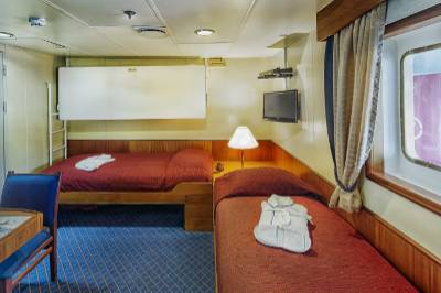 ocean adventurer Antarctica cruise superior suite cabin