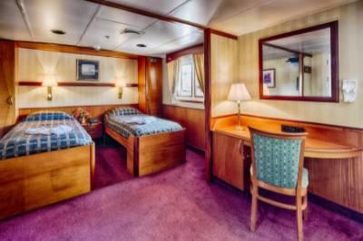 ocean adventurer Antarctica cruise suite cabin