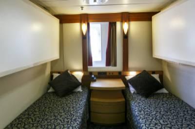 Ocean Endeavour Antarctica twin window cabin