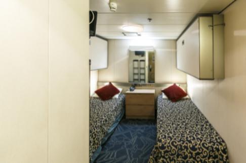 Ocean Endeavour Antarctica single inside cabin