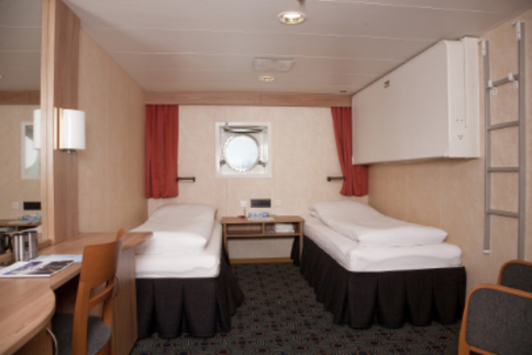 g expedition twin porthole cabin antarctica cruise