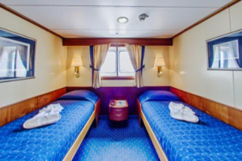 ocean adventurer Antarctica cruise main deck window cabin