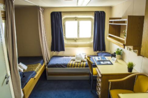 akademik ioffe twin private cabin antarctica cruise