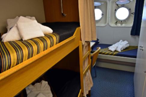 akademik ioffe triple cabin antarctica cruise