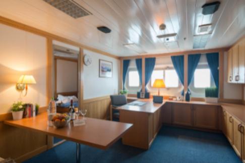 akademik ioffe one ocean suite cabin antarctica cruise