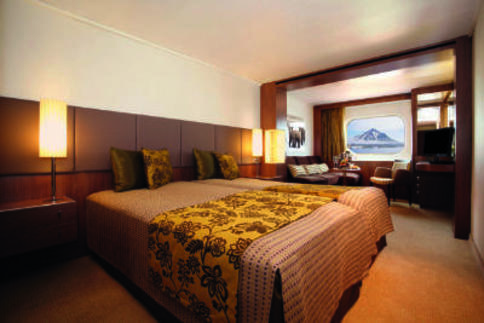 rcgs resolute antarctica cruise Shackleton Suite cabin
