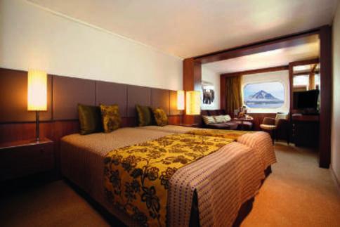 rcgs resolute antarctica cruise Shackleton Suite cabin
