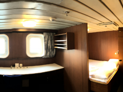 spirit of enderby main mini suite cabin
