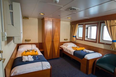 ocean adventurer superior twin cabin
