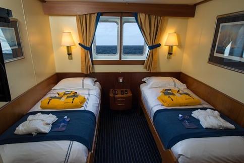 ocean adventurer main deck window cabin