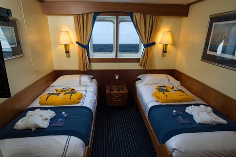 ocean adventurer main deck window cabin