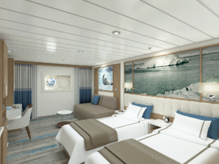 greg mortimer twin stateroom