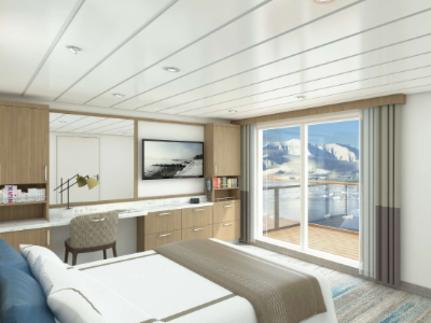 greg mortimer balcony suite