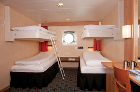 g expedition quad cabin antarctica cruise