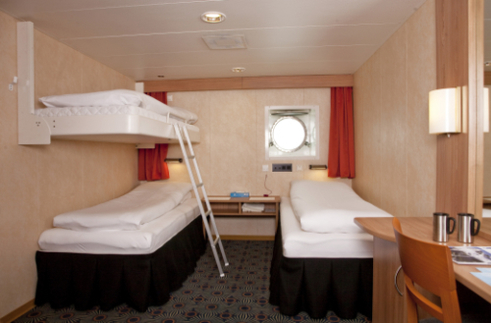 g expedition triple cabin antarctica cruise