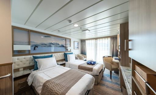greg mortimer balcony stateroom superior