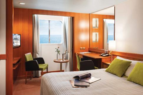 seaventure window stateroom cabin