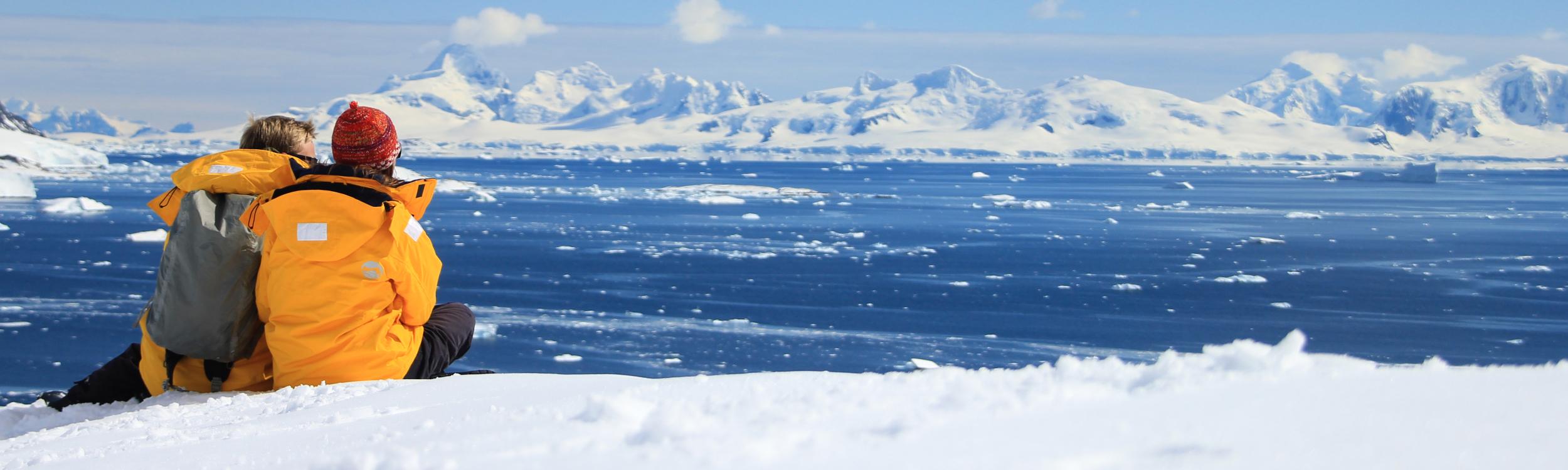 Antarctica explorers