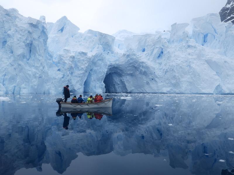 Exploring Antarctica, Bark Europa tall ship, Antarctica cruise
