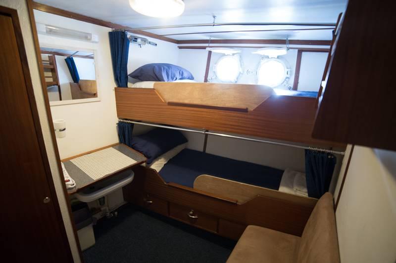 Hans Hansson cabin, Antarctica cruise