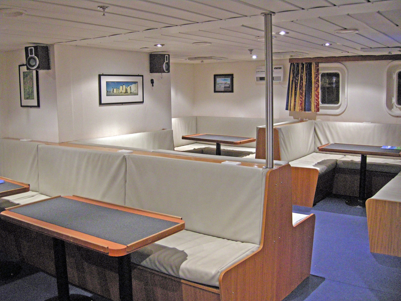 Spirit of Enderby lounge, Antarctica cruise